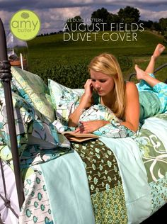 Amy Butler Duvet Cover Free Pattern