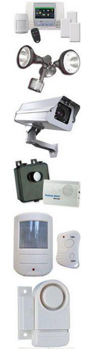 Low Cost Home Security System DIY Buy Burglar Alarms Cameras Motion Detector