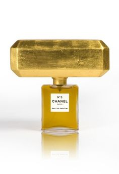 ~Chanel No.5 interpreted by Studio Job.   Kuwait retailer Sheikh Majed Al-Sabah enlisted 25 artists and industrial designers to interpret the iconic Chanel No.5 bottle for an exhibition at his new gallery, Al Sabah Art & Design | House of Beccaria#