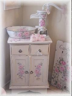 Shabby rose cottage corner hp pink. misfitrosey.com