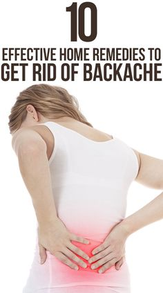 Top 10 Effective Home Remedies To Get Rid Of Backache
