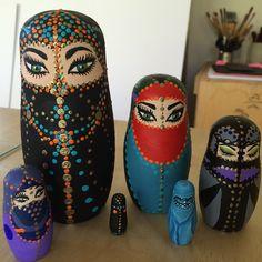 hijab arabic nesting dolls - Google Search