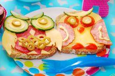 ¿Cómo hacer que la #alimentación de los #niños sea divertida y #saludable? #alimentacióninfantil: Menú de taper. #nutrición #salud