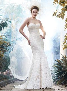 Fredricka - by Maggie Sottero Available at Bella Sera Bridal, 509-663-0121 WenatcheeWeddings.com We Ship!