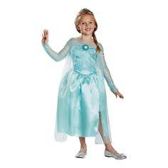 Frozen Elsa the Snow Queen Girls Halloween Costume - Medium