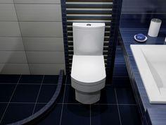 λεκάνη με καζάνι και κάλλυμα SPACE Corfu, Toilet, Bathroom, Home, Washroom, Litter Box, Bathrooms, Flush Toilet, Haus
