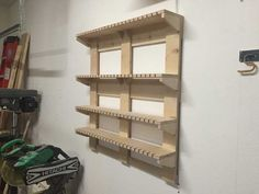 Woodworking Projects For Kids Garage Tool Organization, Shop Organization, Tool Storage, Storage Rack, Storage Organizers, Woodworking Clamps, Woodworking Shop, Woodworking Projects For Kids, Home Projects