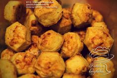 A kedvenc pogácsám – Túrós pogácsa Cauliflower, Muffin, Potatoes, Vegetables, Breakfast, Food, Morning Coffee, Cauliflowers, Muffins