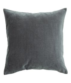 Check this out! Cushion cover in cotton velvet with concealed zip. - Visit hm.com to see more.