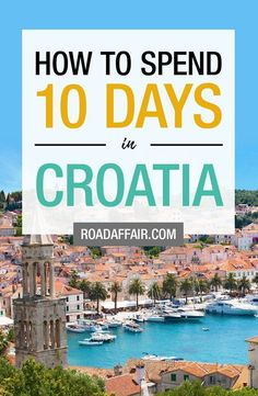 The Perfect 3 Days in Croatia Itinerary.You can find Croatia travel and more on our website.The Perfect 3 Days in Croatia Itinerary. Croatia Itinerary, Croatia Travel Guide, Europe Travel Tips, Spain Travel, Travel Guides, Travel Destinations, Hawaii Travel, Holiday Destinations, Italy Travel