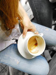 Drink your coffee Latte, Coffee, Drinks, Tableware, Food, Kaffee, Drinking, Beverages, Dinnerware