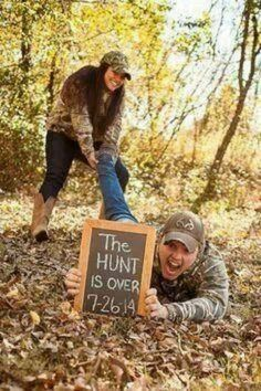 Cute engagement picture.