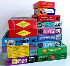 Lot of 15 Vintage Jigsaw Puzzles 204 - 750 Pieces (Lot 2) #Mixed