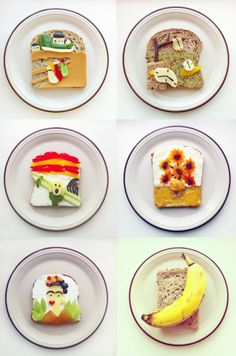 Meet the queen of breakfast. I'll admit to being a breakfast enthusiast. I never skip the chance to eat it. But Ida Frosk takes the early morning meal to a whole new level. The culinary creative from Norway re-creates famous pieces of art on her toast. Imagine eating Edvard Munch's The Scream at 7am?
