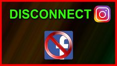 How to Disconnect - unlink Instagram from Facebook account (2020) Instagram Tricks, Instagram Accounts, Android Tutorials, Video Tutorials, Davao, Accounting, Australia, Facebook, Tips