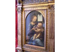 DaVinci. The Benois Madonna.  Saw this one in the Hermitage, St. Petersburg, Russia