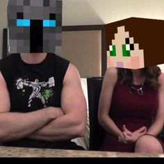 Real life Minecraft Popularmmos and Supergirlygamer