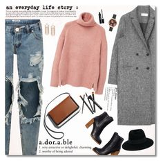 """""""5 Mar 2016"""" by kristinksn ❤ liked on Polyvore featuring One Teaspoon, MANGO, Olivia Burton, Marc Jacobs and Maison Michel"""