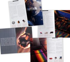 """This brochure about bar codes encouraged UPS business customers to custom-create ones integrated with UPS systems.  Believe me, this project screamed """"boring"""" when it started, and ended up being a terrific example of what fresh thinking can do to liven up a marketing communications approach and achieve desired objectives. Big thanks to Rick Grimsley and Edward Jett at Deep Design and the terrific photographer, Jerry Burns, and especially to my boss at the time, Amy Rubin, who let me run with… Ups System, Pro Bono, Packaging Company, Marketing Communications, Non Profit, Nonfiction Books, Organic Gardening, Burns, Amy"""