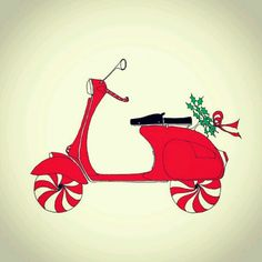 Merry Christmas! #Vespa