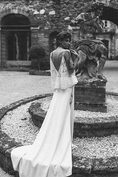Manon Gontero - Créatrice de robes de mariée - Marseille | modèle: Noces de nacre | Crédits: Laurent Brouzet | Donne-moi ta main - Blog mariage --- #RobesDeMariée #mariage #wedding #WeddingDresses #WeddingDress #Bride #brides #Mariée #FutureMariée #Créatrice #mariagerock #rock #romantique #ManonGontero #marseille #france
