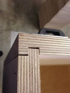 Birch plywood 24 mm dado joint                                                                                                                                                     More: