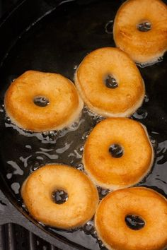 Easy Homemade Baked Sugar Donuts recipe, ready in 15 minutes. These simple and . - Easy Homemade Baked Sugar Donuts recipe, ready in 15 minutes. These simple and extra soft donuts t - Homemade Donut Recipe Without Yeast, Doughnuts Recipe No Yeast, Fried Doughnut Recipe, Deep Fried Donuts, Mini Donut Recipes, Biscuit Donuts, Easy Donut Recipe, Homemade Biscuits, Homemade Doughnuts Easy