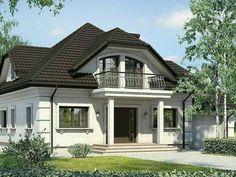 Modern Bungalow House, Bungalow Homes, Bungalow House Plans, Modern House Design, House Balcony Design, House Outside Design, Bay Window Exterior, Modern Entrance Door, Exterior House Colors