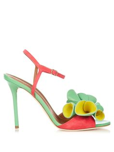 6a53df1db7 Selma rose leather sandals   Malone Souliers   MATCHESFASHION.COM US Bow  Sandals, Bow