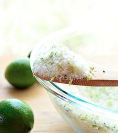 DIY Cracked Heels Remedies ~ Lime Mint Foot Soak