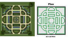 minecraft blueprints, I made this garden, it's awesome! minecraft blueprints, I made this garden, it's awesome! Minecraft Park, Minecraft Villa, Plans Minecraft, Minecraft Castle Blueprints, Minecraft Templates, Minecraft Garden, Minecraft Mansion, Minecraft House Designs, Minecraft Tutorial