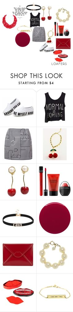 """Express yourself, literally!!!!"" by alisafranklin on Polyvore featuring Victoria, Victoria Beckham, Valentino, Sephora Collection, Smith & Cult, Lulu Guinness, Chanel and Humble Chic"