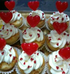 Cup Cake Hearts