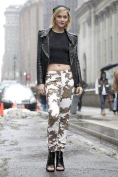 New York Fashion Week 2013..