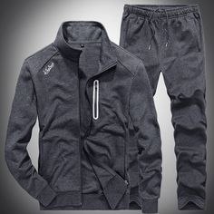 26200f772bb Slim Mens Sweat Suits Sets Tracksuit Male Casual Sweatshirts Men Sweatsuits  Fitness Jacket Sporting Suits Coat