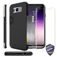 47 best phone images galaxy s7, phone cases, cellular accessoriesfor samsung galaxy s8 s8 plus case [full coverage] shockproof cover card wallet