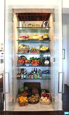 Mid Week Inspiration..Glass Refrigerators…Super Chic..or Super Stepford.. | Opulent Minimalist Lifestyle : by Serena Elise