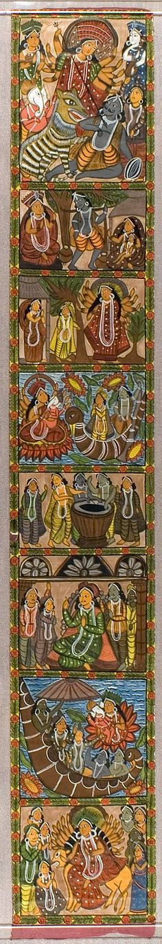 1000 images about folkart around the world on pinterest for Asha mural painting