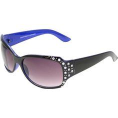 2a8604a8e6 Piranha Catwalk Shiny Black Frame Sunglasses with Smoke Gradient Lens