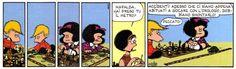 Malfada e gli scacchi: «Hai preso tu il metro?» #Mafalda