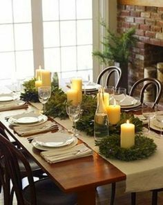 WARM BRICK FIREPLACE, FRENCH DOORS, CANDLELIGHT & WARM WOOD TONES - WHO COULD ASK FOR MORE???