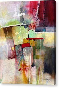 Florid Dream Canvas Print by Hailey E Herrera