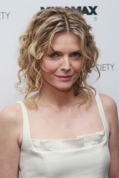 Michelle Pfeiffer Pinned Up Ringlets