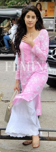 She is putting basic Indian wear separates back on the style charts.