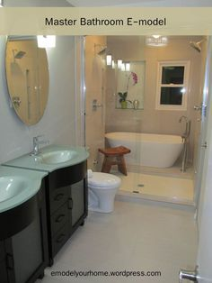 Layout for 7x10' master bath, small, freestanding soaking ...