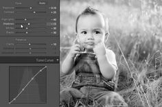 Creating a Black and White High Contrast Portrait Edit in Lightroom