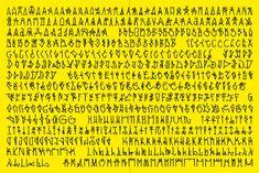 Alfabeto do Pixo