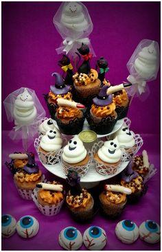 Halloween cupcake pasticceria Dece via Calefati 93 Bari