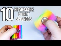 How to Make a Hand Spinner Fidget Toy with Household Items – Now Trendz