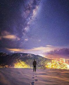 Con vistas a Queenstown, Nueva Zelanda